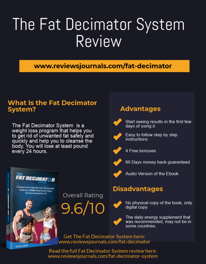 the fat decimator system advantages and disadvantages